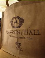 Langdon Hall goodie bag