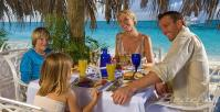 many dining options at Beaches Resort