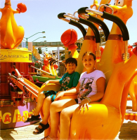 amusement park rides in New Jersey