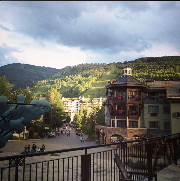 Vail in summertime