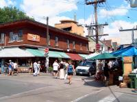 the shops of Kensington Market