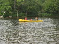 Canoeing at Muskoka Bible Center
