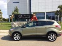 Ford Escape courtesy of Ford Canada