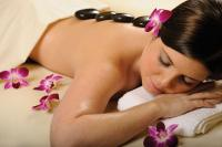 Hot Stone massage at Spa Minerale