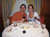 Romantic Dining on the Caribbean Princess