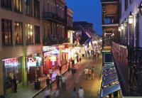 Bourbon st, French Quarter