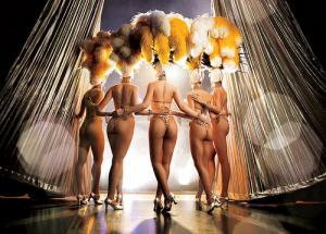 Jubilee showgirls: courtesy of Jubilee