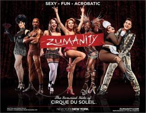 Sensual Zumanity: courtesy of Zumanity